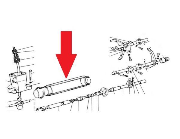 Gear Linkage Rubber Boot / Schutz für Schaltstange