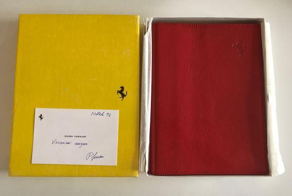 FERRARI 1994 Schedoni Leather Diary Agenda / Kalender