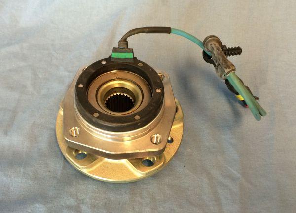 Rear Hub Bearing / Radlagerung hinten