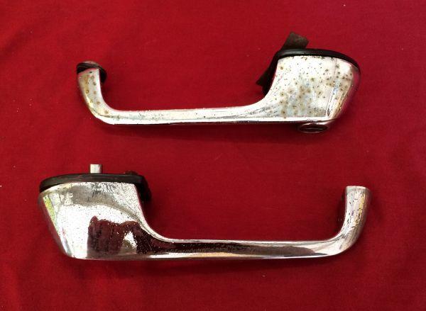 Pair of Door Handles / Paar Türgriffe