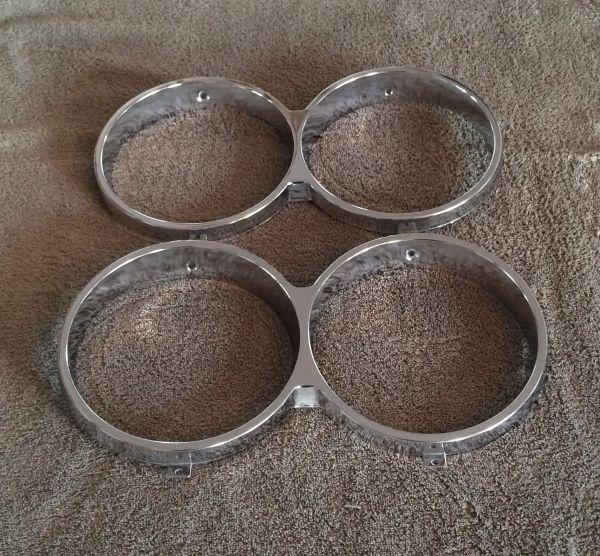 Headlight Chrome Rims / Chromringe für Scheinwerfer