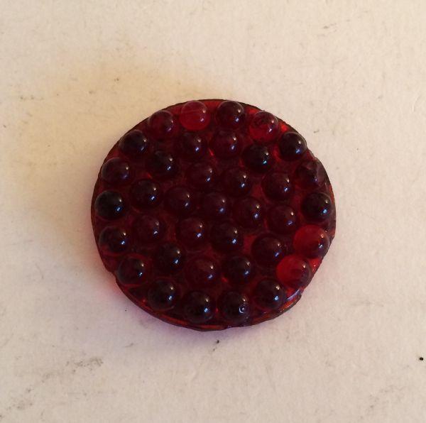 Lense for Light red / Leuchtenglas rot