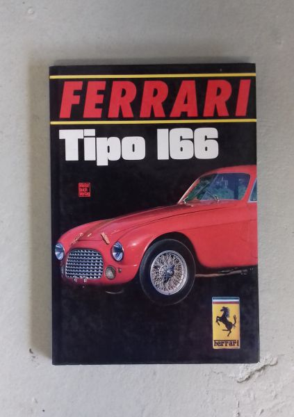 Ferrari Tipo 166 - Book / Buch