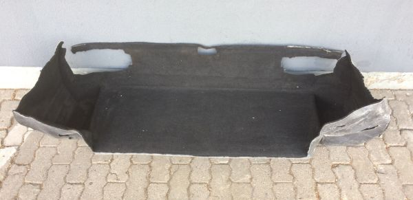 Carpet for rear Trunk / Formteppich Kofferraum hinten