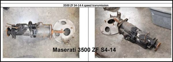 Maserati 3500 ZF S4-14 - Gearbox / Getriebe