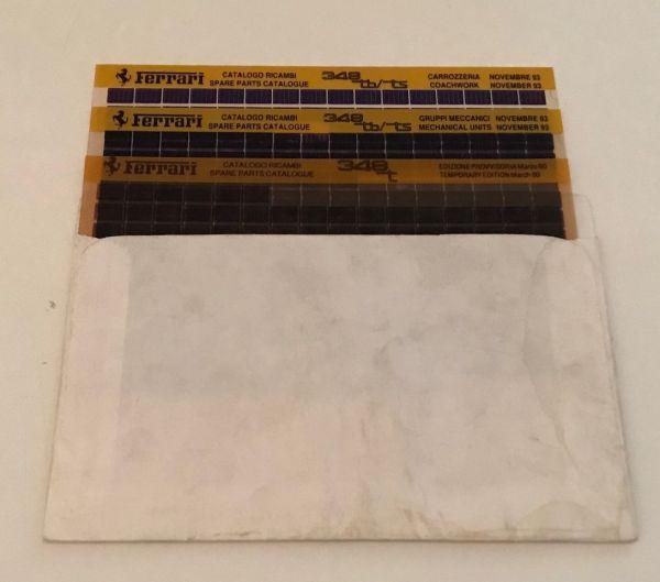 MICROFICHE 348 - Parts Catalogue / Teilekatalog