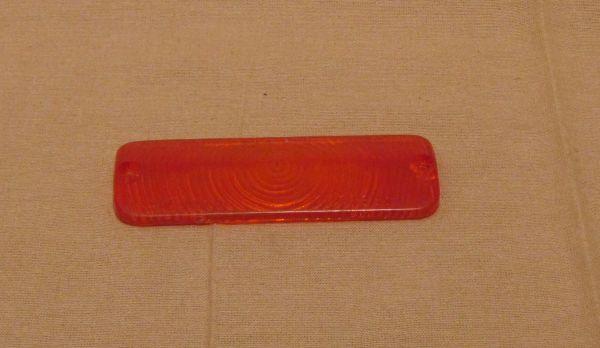 Reverse Light lens amber / Rückfahrscheinwerfer Glas orange