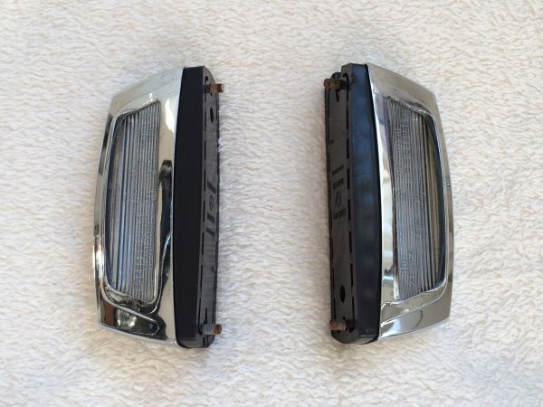 License Plate Lights - Pair / Kennzeichenleuchten - Paar