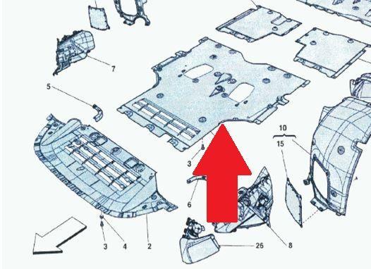 Front Aereodynamic Bottom / Unterboden-Verkleidung vorne