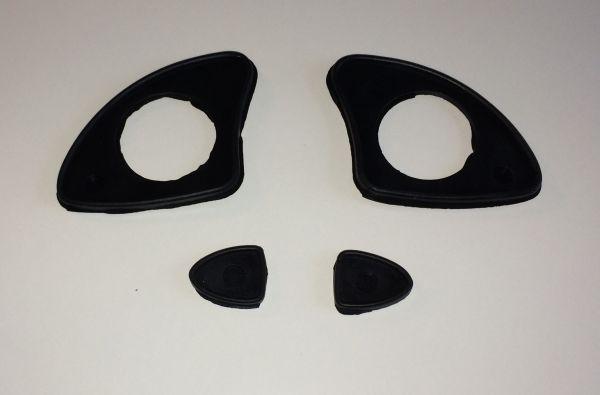 Rubber Set for Door Handle / Satz Gummiunterlagen für Türgriff