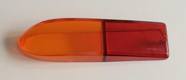 Rear Light Lense red / amber - left / Rücklicht-Gläser gelb / rot - links