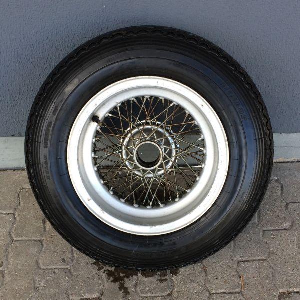 BORRANI RW 3801 Record Spare Wheel 15 x 6 1/2 L with Dunlop Sprint / Felge mit Reifen