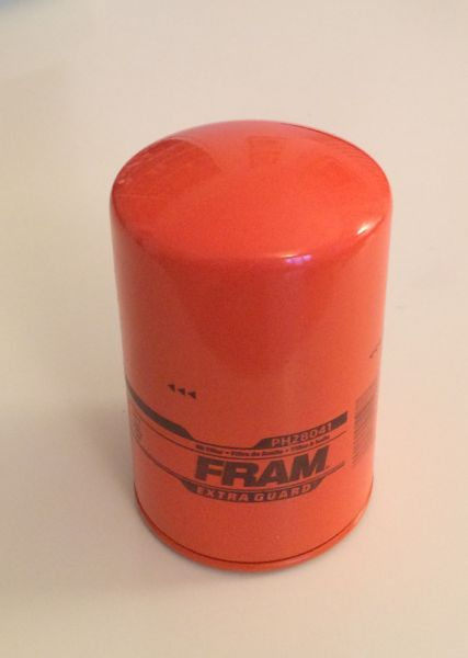 "FRAM - Oil Filter Full Flow / Ölfilter Hauptstrom - ""ORANGE"""
