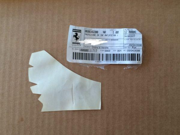 Protection Foil - front right / Schutzfolie - vorne rechts
