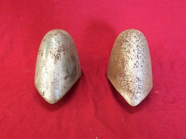 Pair Bumperhorns / Paar Stoßstangenhörner