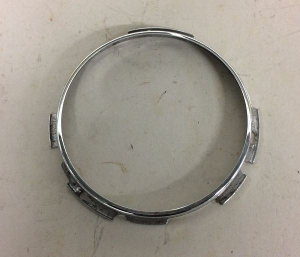 "Headlamp Ring Chrome 7"" / Chromring Scheinwerfer 7"""