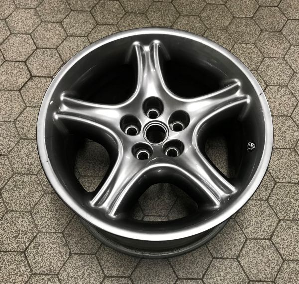 "10J x 17"" - Rear Wheel Rim / Felge hinten"