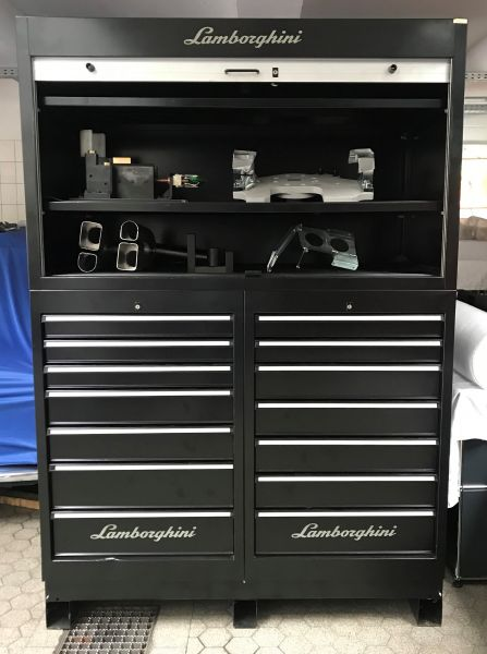 Original Lamborghini - Tool-Cabinet / Werkzeug Schrank