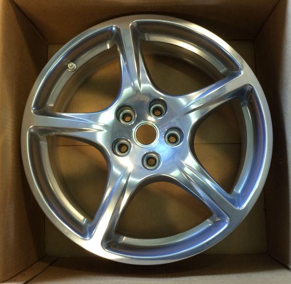"""Wheel Rim 7 1/2"""" J X 18"""" - front / Felge 7 1/2"""" J X 18"""" vorne"""