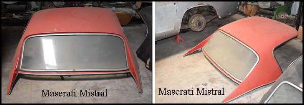 Maserati Mistral Spider - Hard Top