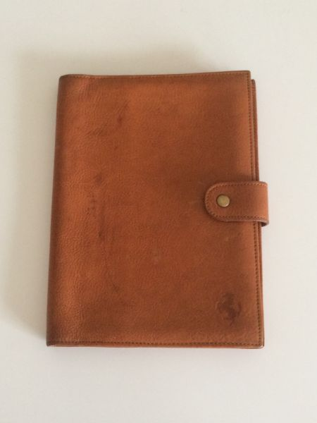 Owner's Manual Leather Pouch / Leder Dokumenten Tasche