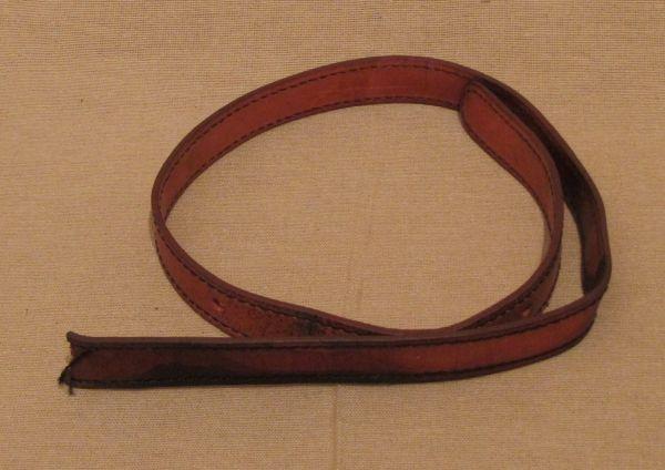 Leather Strap for Tool Kit / Lederriemen für Werkzeugtasche