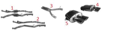 Set (2) of Test Pipes / Satz (2) Testrohre