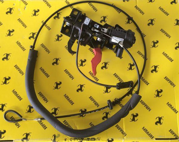 Front Hood Lock including Emergency Release Cable / Haubenschloss vorne mit Notöffnungs-Zug