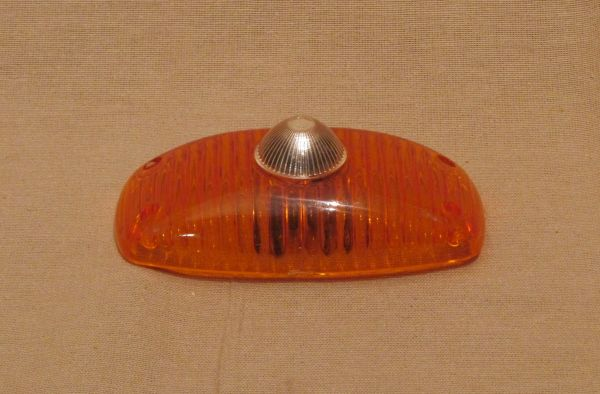 Lens for Reverse Light - amber / Rückfahrscheinwerferglas - orange