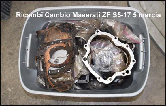 Maserati ZF S5-17 - Gearbox Parts / Getriebeteile