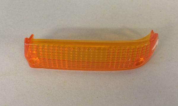 Front Indicator Glass - orange - left / Blinkerglas vorn - orange - links