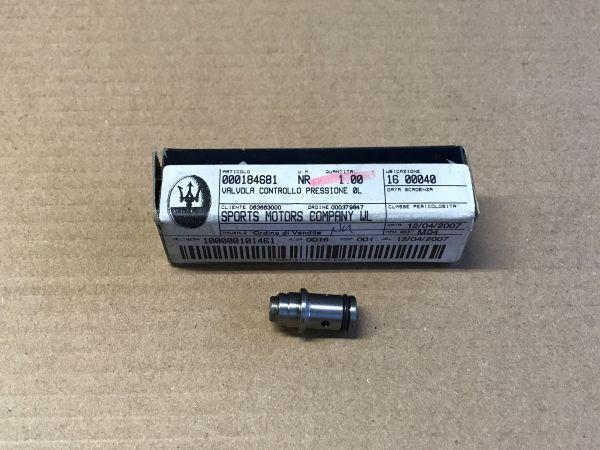 Oil Pressure Check Valve / Öldruck Prüfschalter
