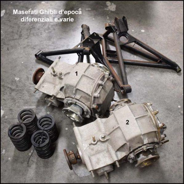 Maserati Ghibli - Differential