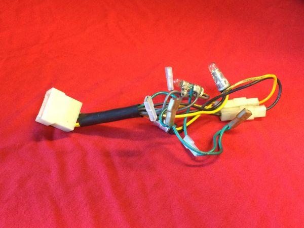 Cables behind Main Instruments / Kabelsatz hinter Haupt-Instrumenten