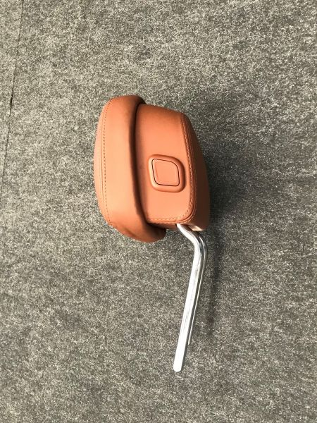 Front Leather Seat Headrest / Kopfstütze vorne Leder