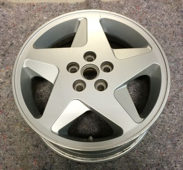 "Wheel Rim - front - right / Felge - vorn - rechts / 7 1/2""J X 17"""