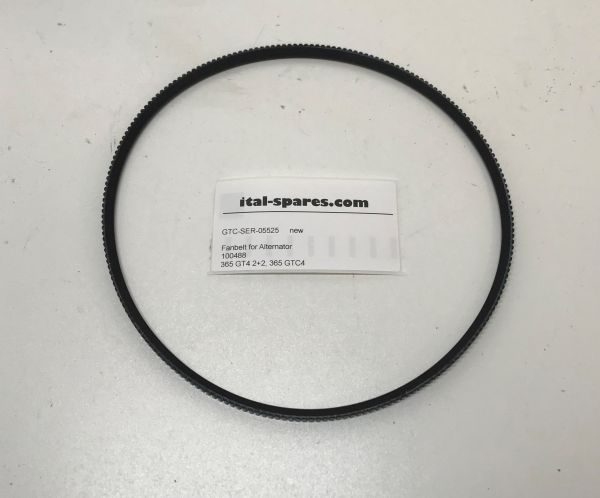 Fanbelt for Alternator / Keilriemen Lichtmaschine