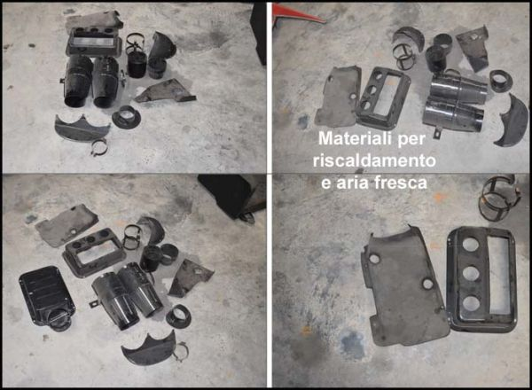 Maserati - Cooling + Heating Parts / Teile Heizung und Kühlung