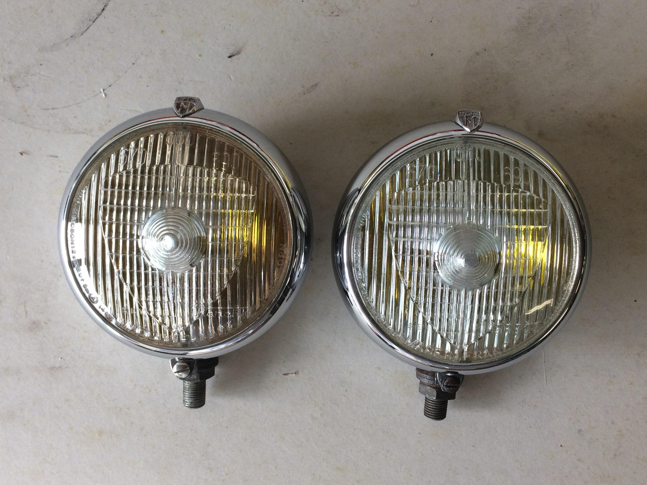 2 MARCHAL 670//680 FOG LIGHTS NEW