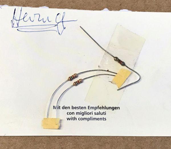 Resistor for Heating / Widerstand für Heizung