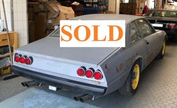 Ferrari 365 GT4 2+2 - PROJECT CAR