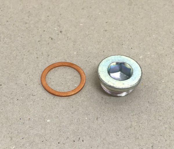 Drain Plug with Sealring / Ablassschraube mit Dichtring